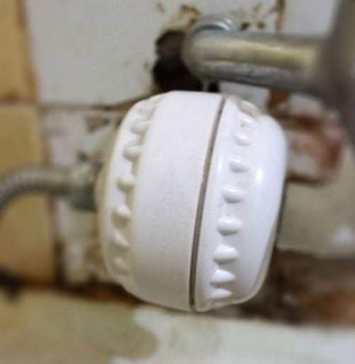 Filtro para la ducha bienestar para el cabello y la piel for Griferia ducha homecenter