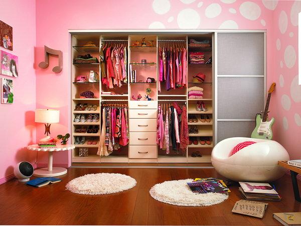 C mo organizar tu closet especialmente si es peque o for Cuarto con walking closet