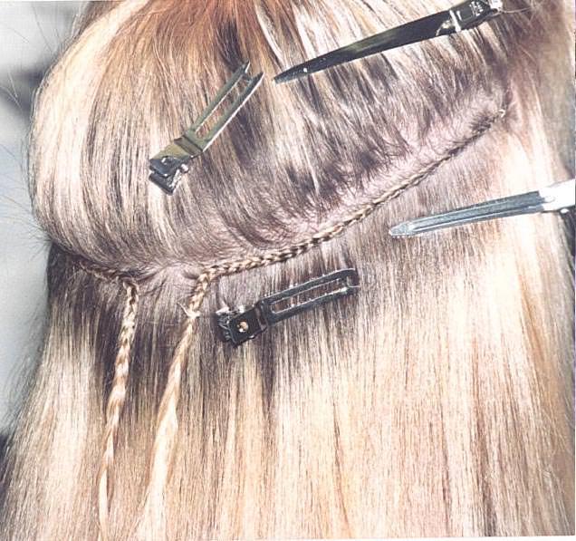 Extensiones para pelo corto y fino