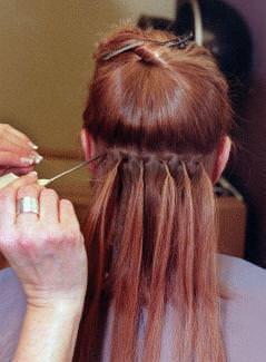 El riesgo de usar extensiones cabellos y hierbas for Extension cheveux salon