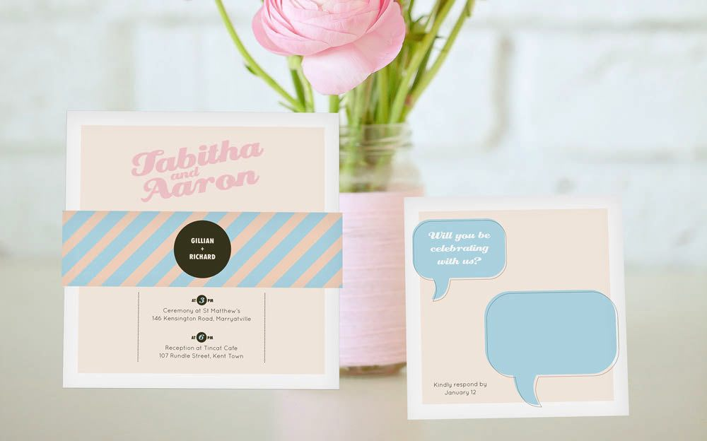 pastel-retro-wedding-invitations
