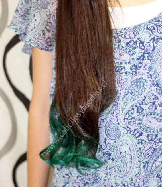 Cabello De Color Turquesa - newhairstylesformen2014.com