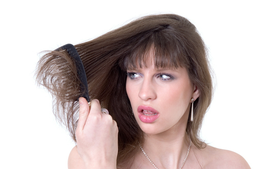La causa del descenso del peso y la caída de los cabello