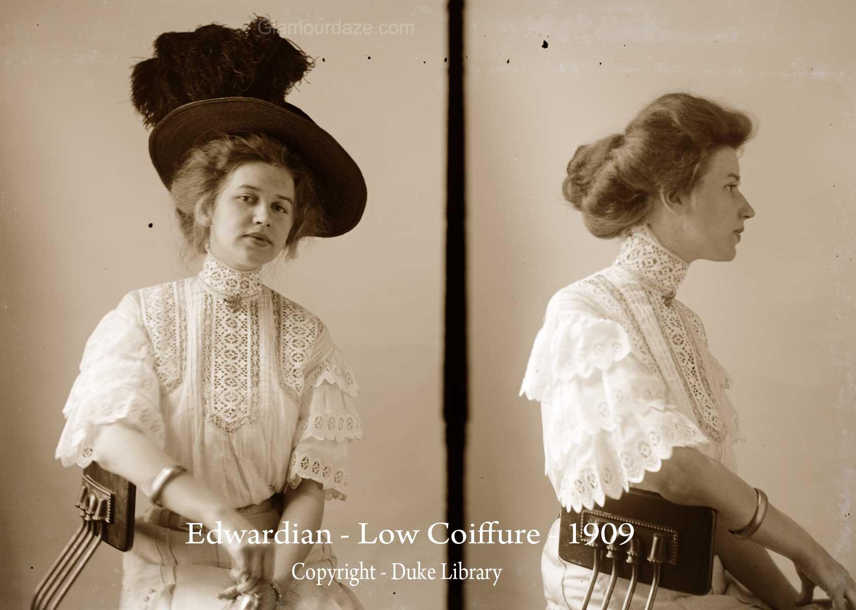 El Cabello A Trav 233 S De Las D 233 Cadas 1900 1910