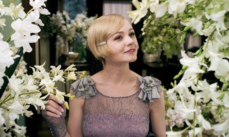 Carey Mulligan as Daisy Buchanan in The Great Gatsby