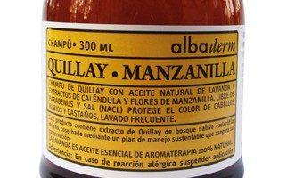 Shampoo Quillay Manzanilla de Apícola del Alba