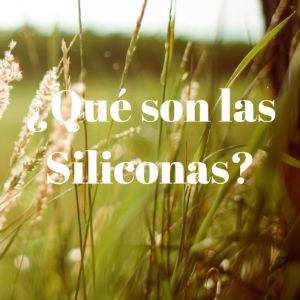 Qué son las Siliconas