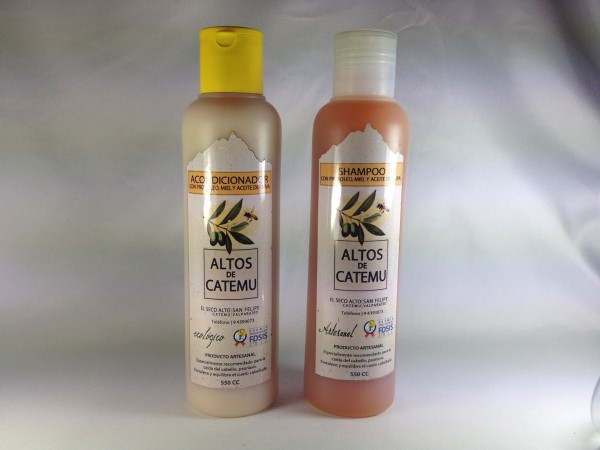 Shampoo altos de Catemu
