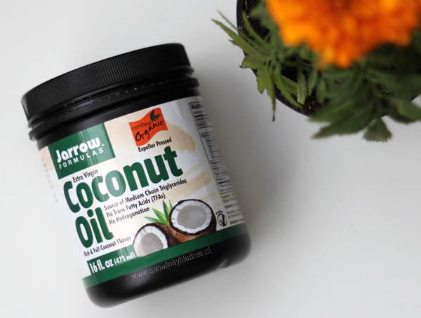 Aceite de coco org nico de jarrow formulas cabellos y for Aceite de coco para cocinar