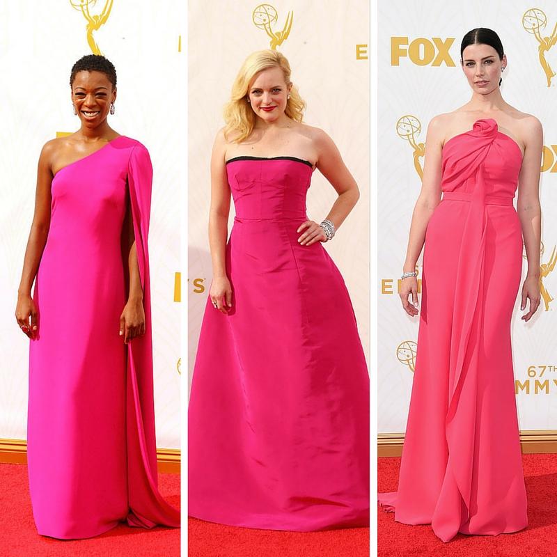 Samira Wiley, Elisabeth Moss en Oscar de la Renta y Jessica Pare
