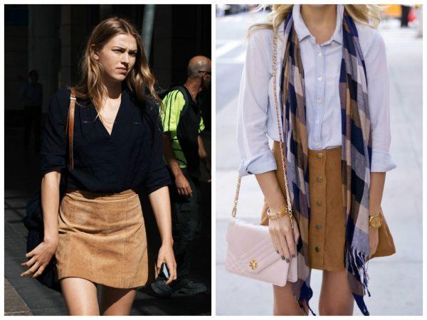 Tendencias c mo combinar mi falda caf cabellos y hierbas for Que color asociar con el gris claro