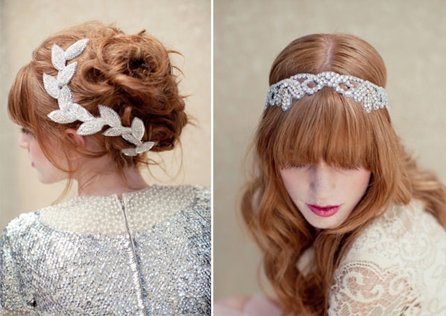Modern bridal veils and hair accessories 1