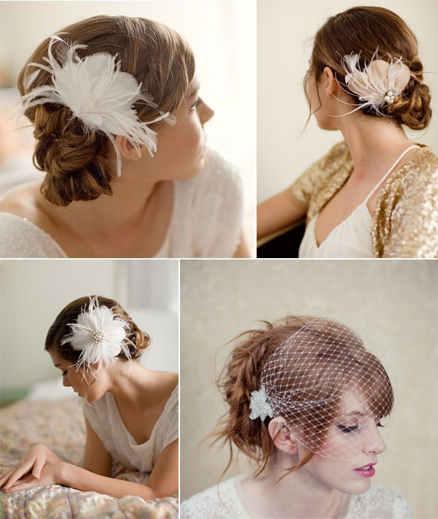 Modern bridal veils and hair accessories 2