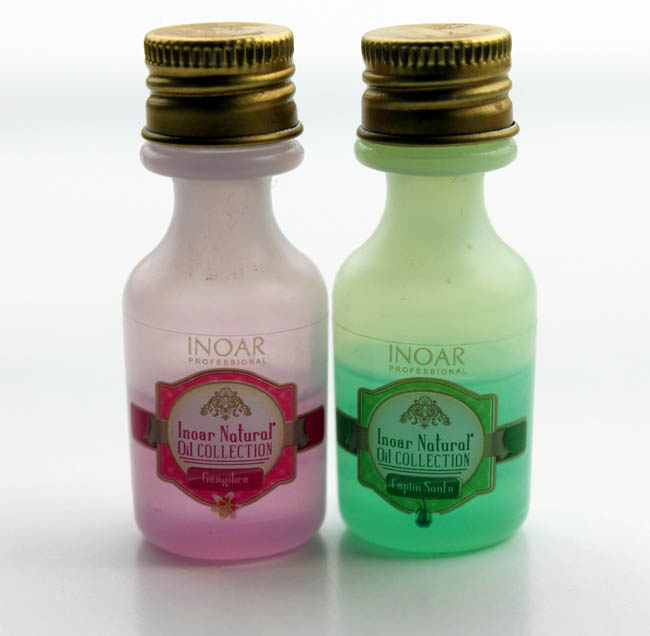 natural oil collection inoar
