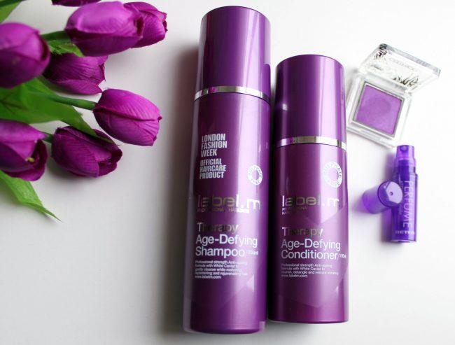 Shampoo y acondicionador Age Defying Therapy de Label.m